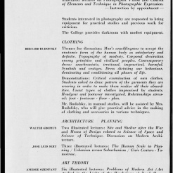 #11 Vol. II, No. 6 - 04.1944 Black Mountain College Bulletin. Courtesy of Western Regional Archives.