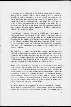 #3 No. 2, 11.1944 Josef Albers Black Mountain College Bulletin. Courtesy of Western Regional Archives