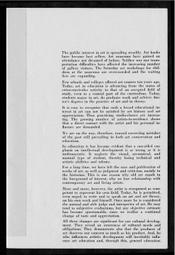 #3 Vol. II, No. 6 - 04.1944 Black Mountain College Bulletin. Courtesy of Western Regional Archives.