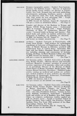 #5 May 1945 Vol. III, No. 6 Black Mountain College Bulletin. Courtesy of Western Regional Archives