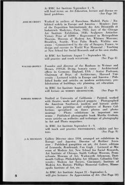 #5 Vol. II, No. 6 - 04.1944 Black Mountain College Bulletin. Courtesy of Western Regional Archives.