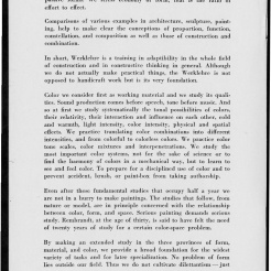#6 No. 2, 11.1944 Josef Albers Black Mountain College Bulletin. Courtesy of Western Regional Archives