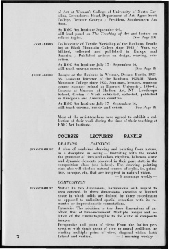 #7 Vol. II, No. 6 - 04.1944 Black Mountain College Bulletin. Courtesy of Western Regional Archives.