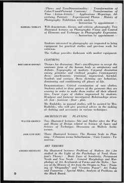 #9 Vol. II, No. 6 - 04.1944 Black Mountain College Bulletin. Courtesy of Western Regional Archives.