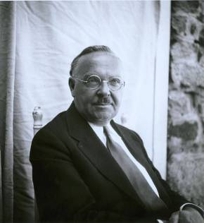 Portrait of John Andrew Rice (Classics instructor, 1933-1939). Rice was also the first Rector of Black Mountain College. Courtesy of Western Regional Archives.