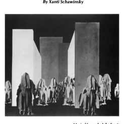 "#1 Xanti Schawinsky: ""Play, Life, Illusion "", in The Drama Review: TDR, Vol. 15, No. 3 (Summer, 1971), pp. 45-59, Published by: The MIT Press"