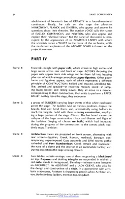 """#10 Xanti Schawinsky: """"Play, Life, Illusion """", in The Drama Review: TDR, Vol. 15, No. 3 (Summer, 1971), pp. 45-59, Published by: The MIT Press"""