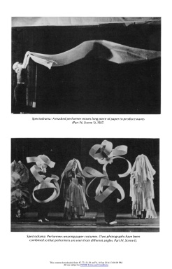 """#11 Xanti Schawinsky: """"Play, Life, Illusion """", in The Drama Review: TDR, Vol. 15, No. 3 (Summer, 1971), pp. 45-59, Published by: The MIT Press"""