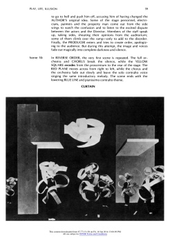 """#15 Xanti Schawinsky: """"Play, Life, Illusion """", in The Drama Review: TDR, Vol. 15, No. 3 (Summer, 1971), pp. 45-59, Published by: The MIT Press"""