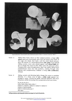 """#3 Xanti Schawinsky: """"Play, Life, Illusion """", in The Drama Review: TDR, Vol. 15, No. 3 (Summer, 1971), pp. 45-59, Published by: The MIT Press"""