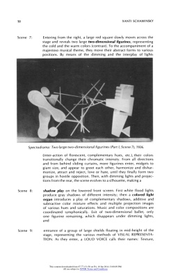 """#6 Xanti Schawinsky: """"Play, Life, Illusion """", in The Drama Review: TDR, Vol. 15, No. 3 (Summer, 1971), pp. 45-59, Published by: The MIT Press"""