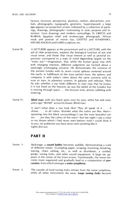 """#7 Xanti Schawinsky: """"Play, Life, Illusion """", in The Drama Review: TDR, Vol. 15, No. 3 (Summer, 1971), pp. 45-59, Published by: The MIT Press"""