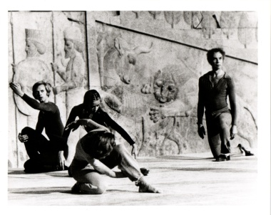 Douglas Dunn, Susana Hayman-Chaffey, Valda Setterfield, and Merce Cunningham in Event, Photo © Unknown 1972
