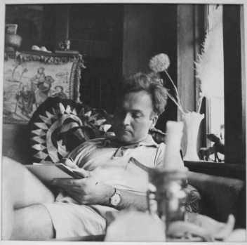 Robert Duncan 1959, photo © Patricia Jordan