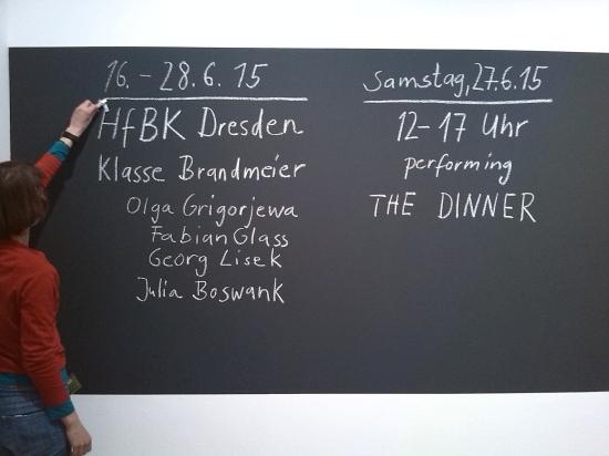 PERFORMING the Black Mountain ARCHIVE: Klasse Brandmeier HfBK Dresden. Foto: Georg Lisek