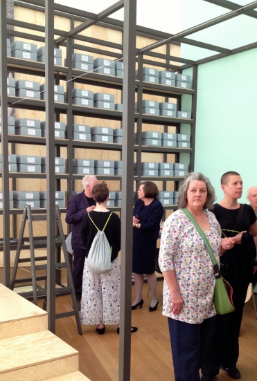 """PERFORMING the Black Mountain ARCHIVE"" at Hamburger Bahnhof - Museum für Gegenwart - Berlin"