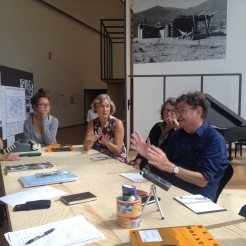Happening and conversations on the 17-07-2015 about Black Mountain College, at Hamburger Bahnhof – Museum für Gegenwart, Berlin