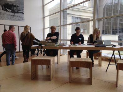 Arbeitssituartion II, Foto: Arnold Dreyblatt