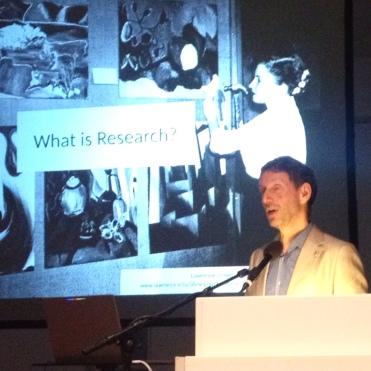 James Elkins on 'What is Research?' (Keynote, 25 /09 / 2015)